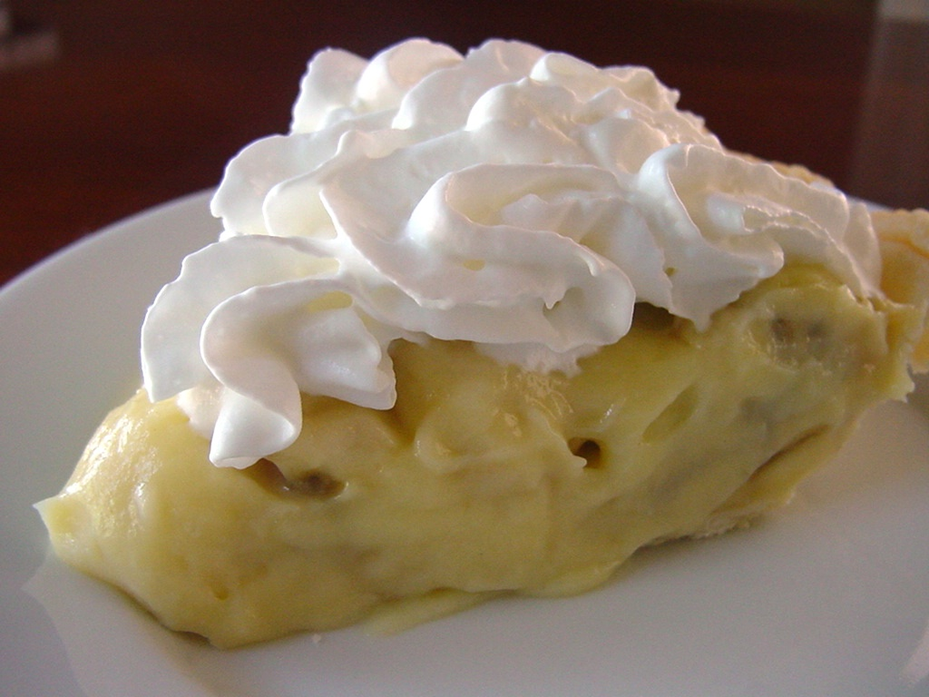 Granny's Banana Cream Pie Recipe