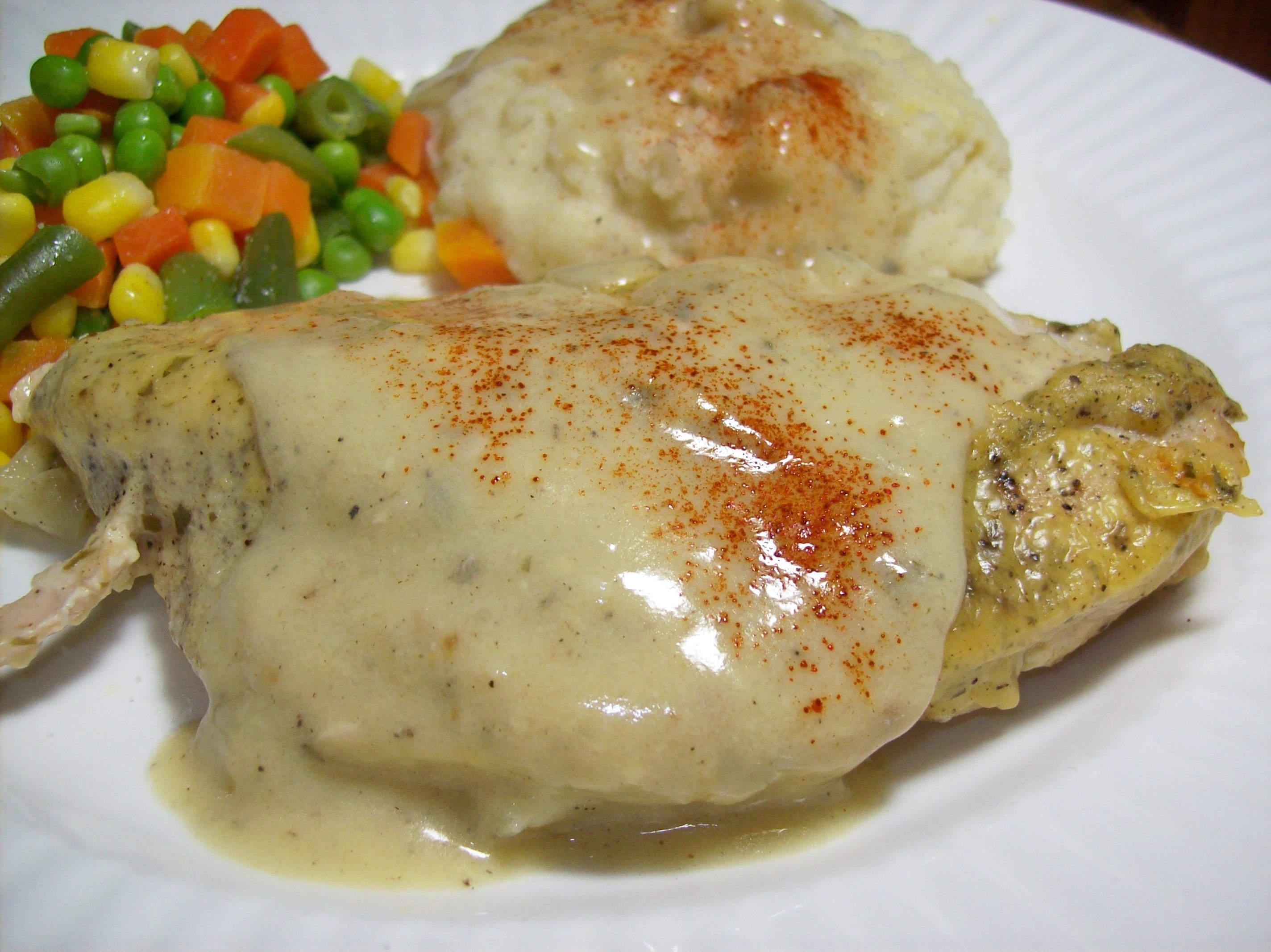 Tarragon Chicken Casserole