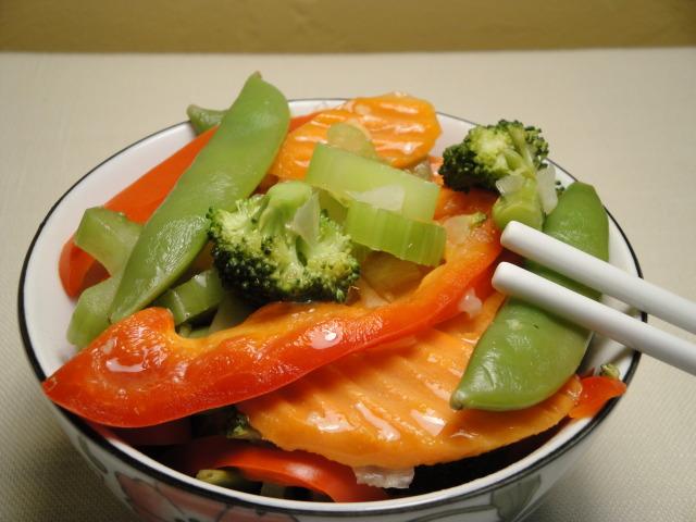 Easy Gingered Vegetables
