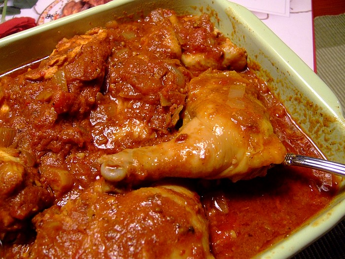 Cape Malay Chicken Curry by Zurie