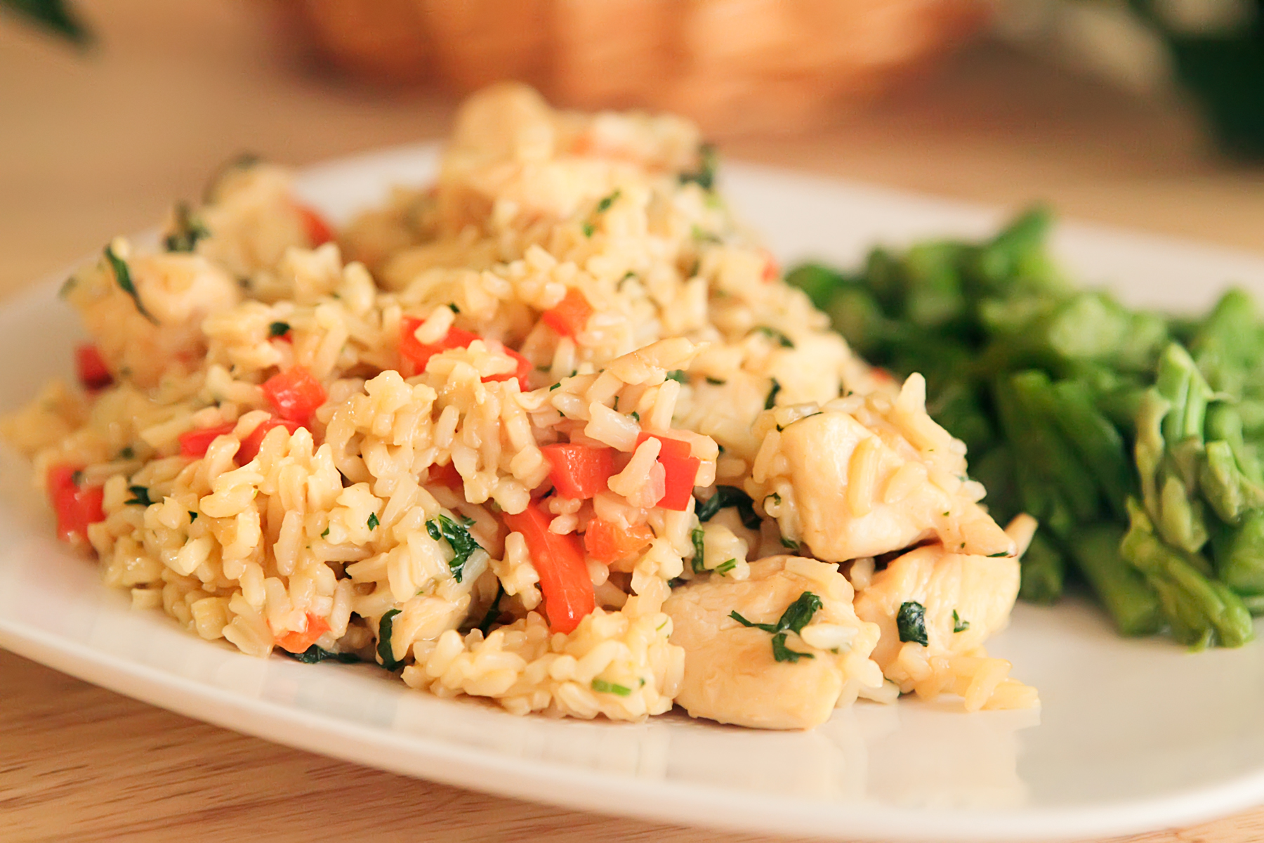 Thai Chicken Fried Rice with Basil – Kao Pad Krapao
