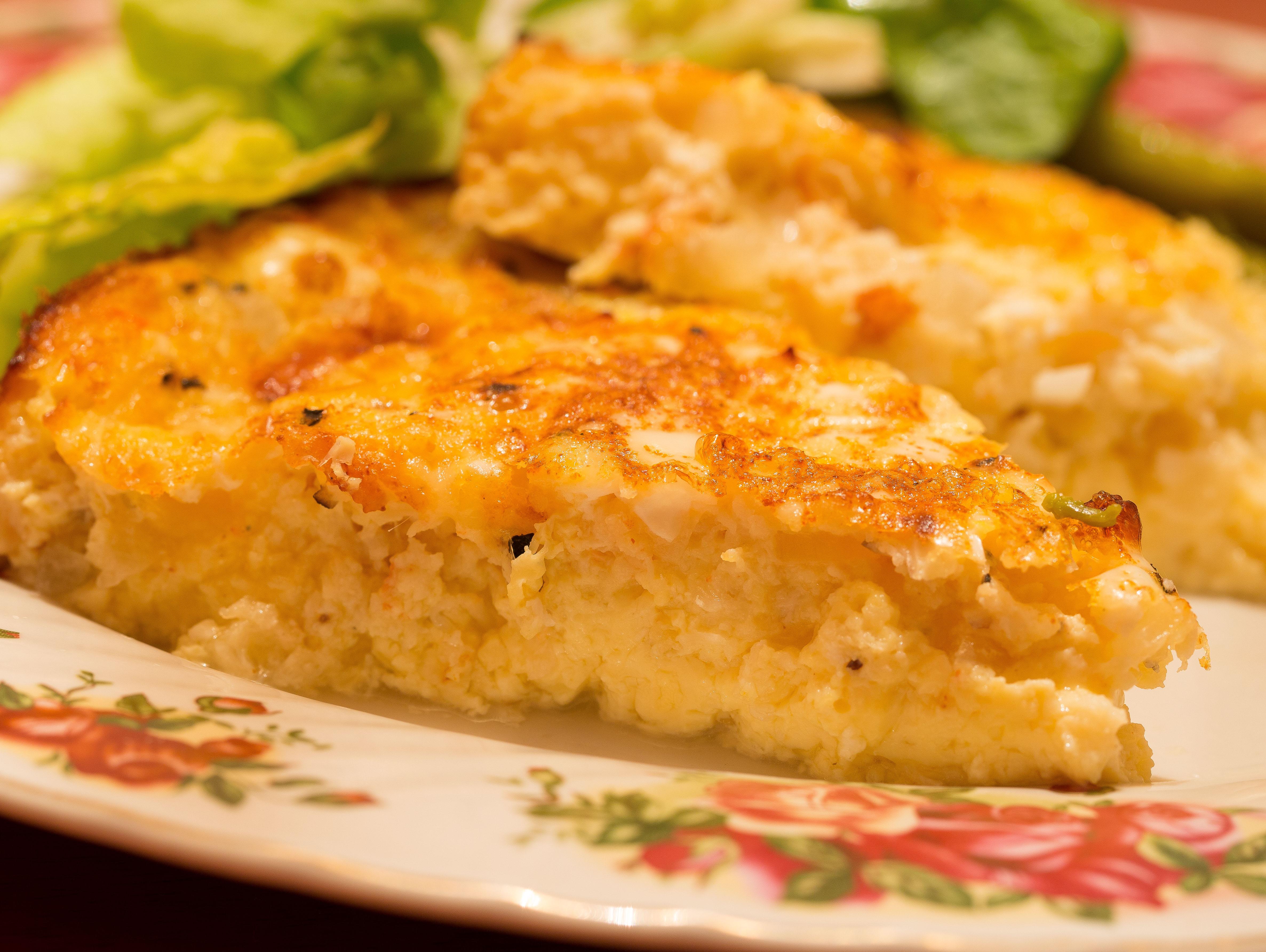 Crustless Crab Quiche Recipe