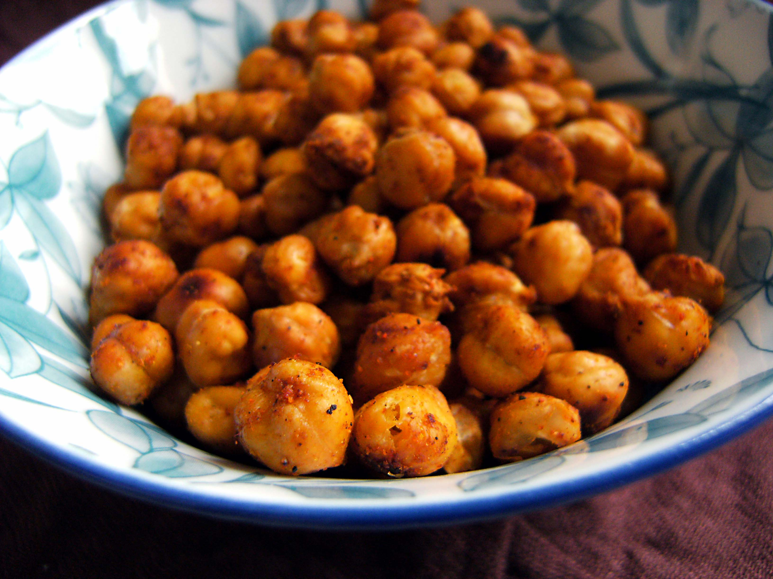 Roasted Garbanzo Beans/Chickpeas Recipe