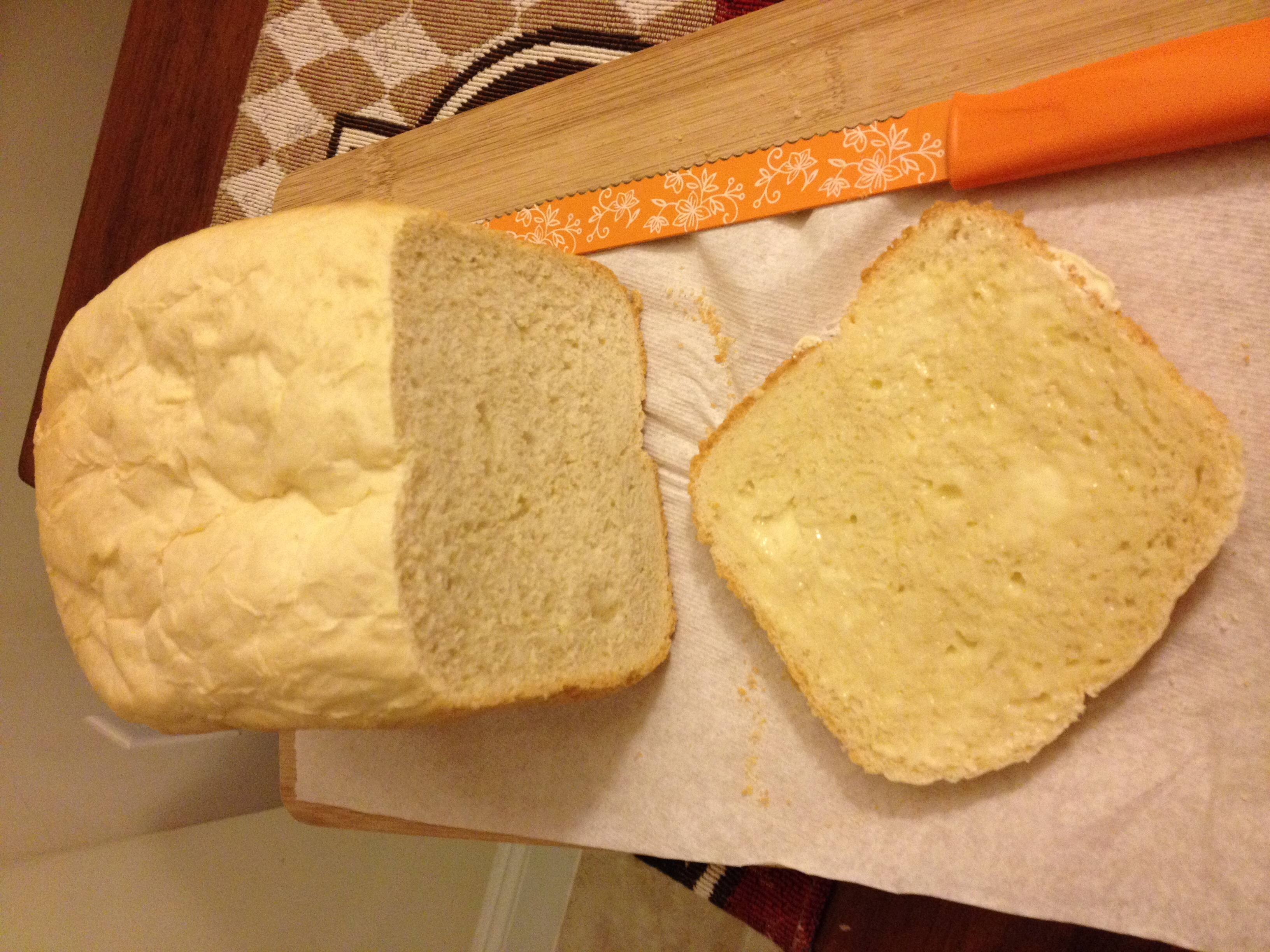 Throw Away the Bread Machine Instructions!…. White Bread