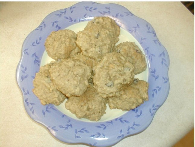 Spicy Oatmeal Cookies