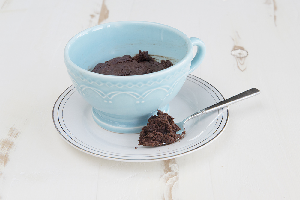 Microwave Chocolate Mug Brownie Recipe