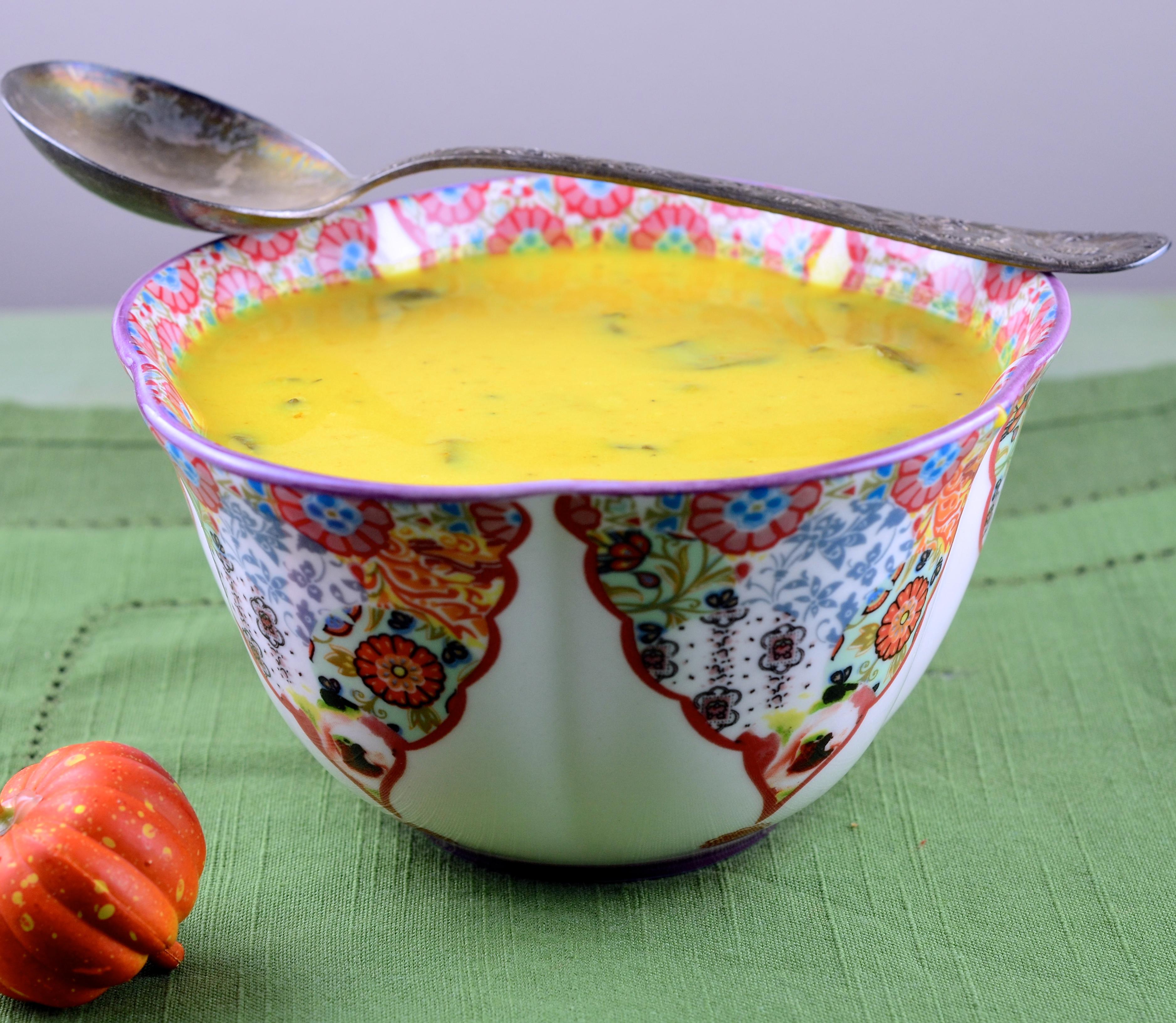 Curried Pumpkin Soup Recipe