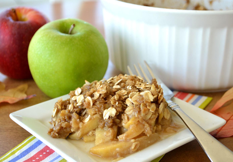Mom's Apple Crisp Recipe