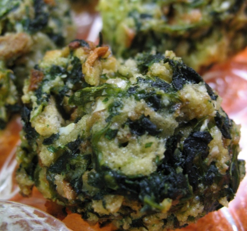 Spinach Balls (appetizer) Recipe