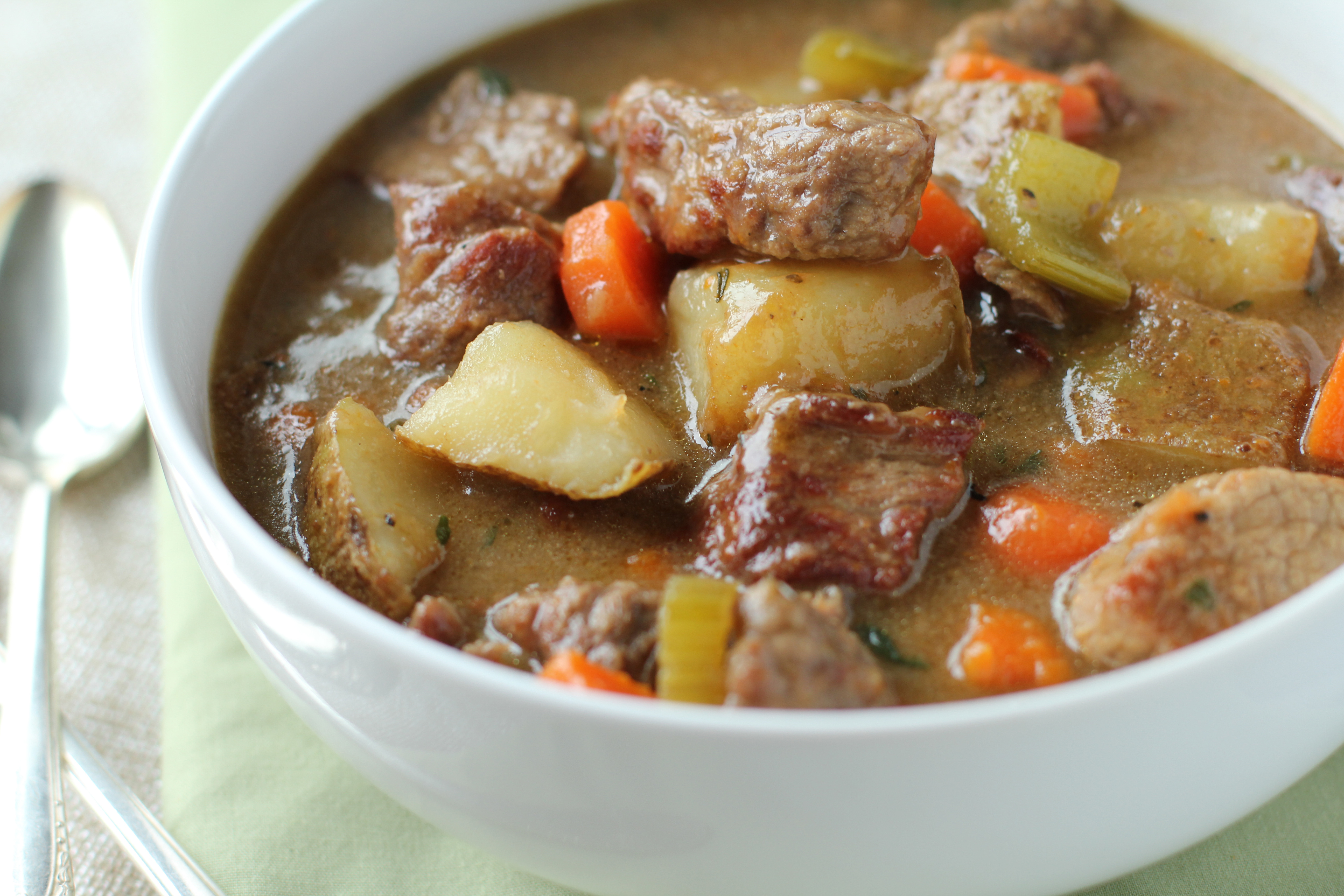 The Best Browned Beef Stew Ever Recipe
