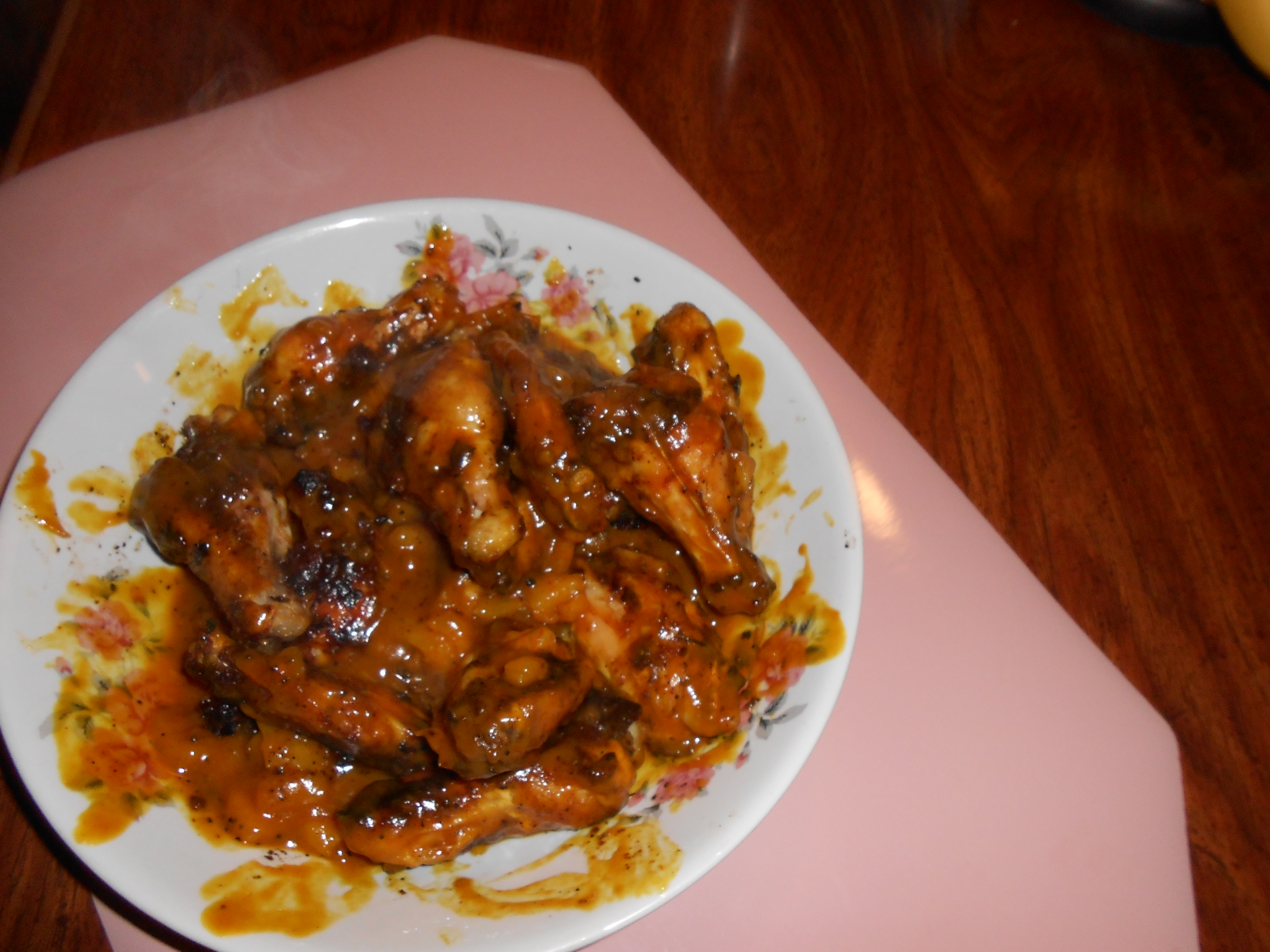 Caribbean Jerk Chicken Wings