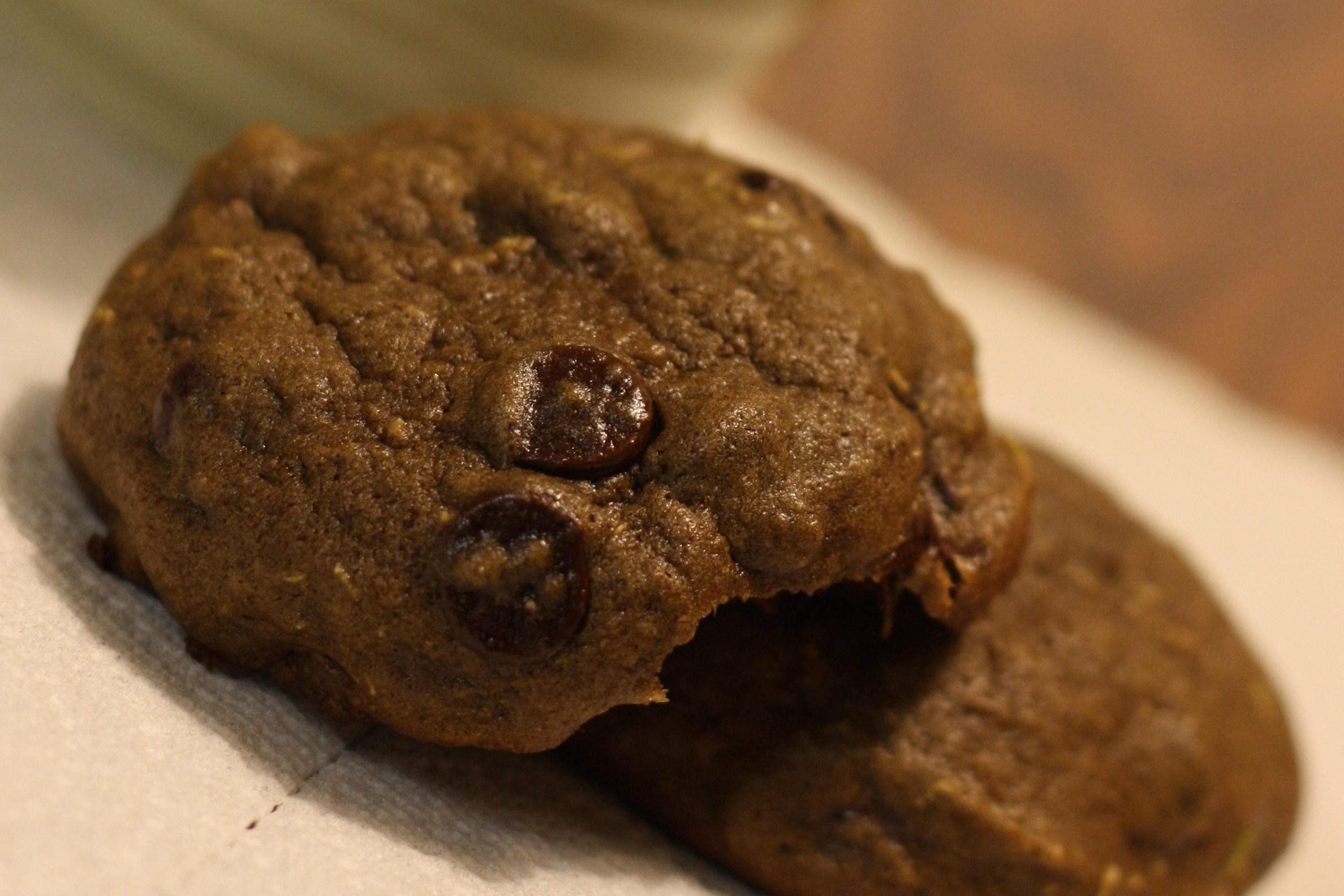 Double Chocolate Zucchini Cookies