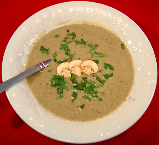 Portabella Mushroom Soup