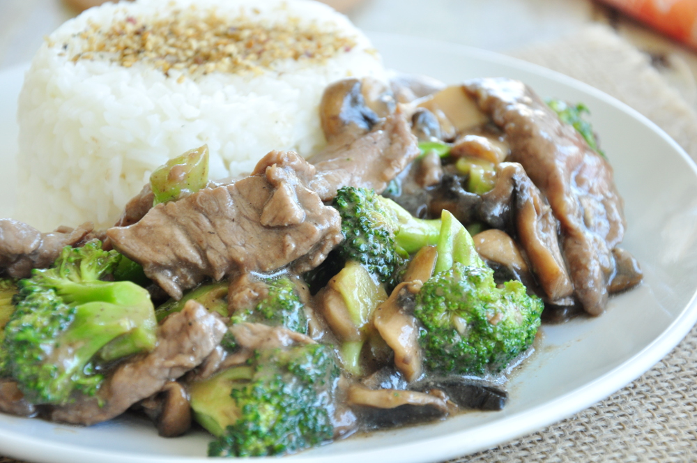 Sassy's Beef and Broccoli