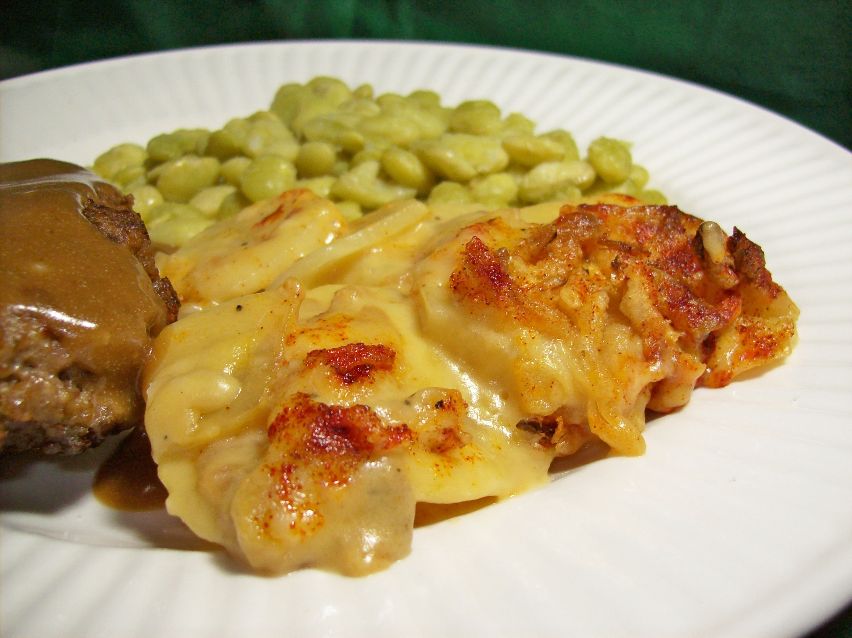 Scalloped Potatoes for Two
