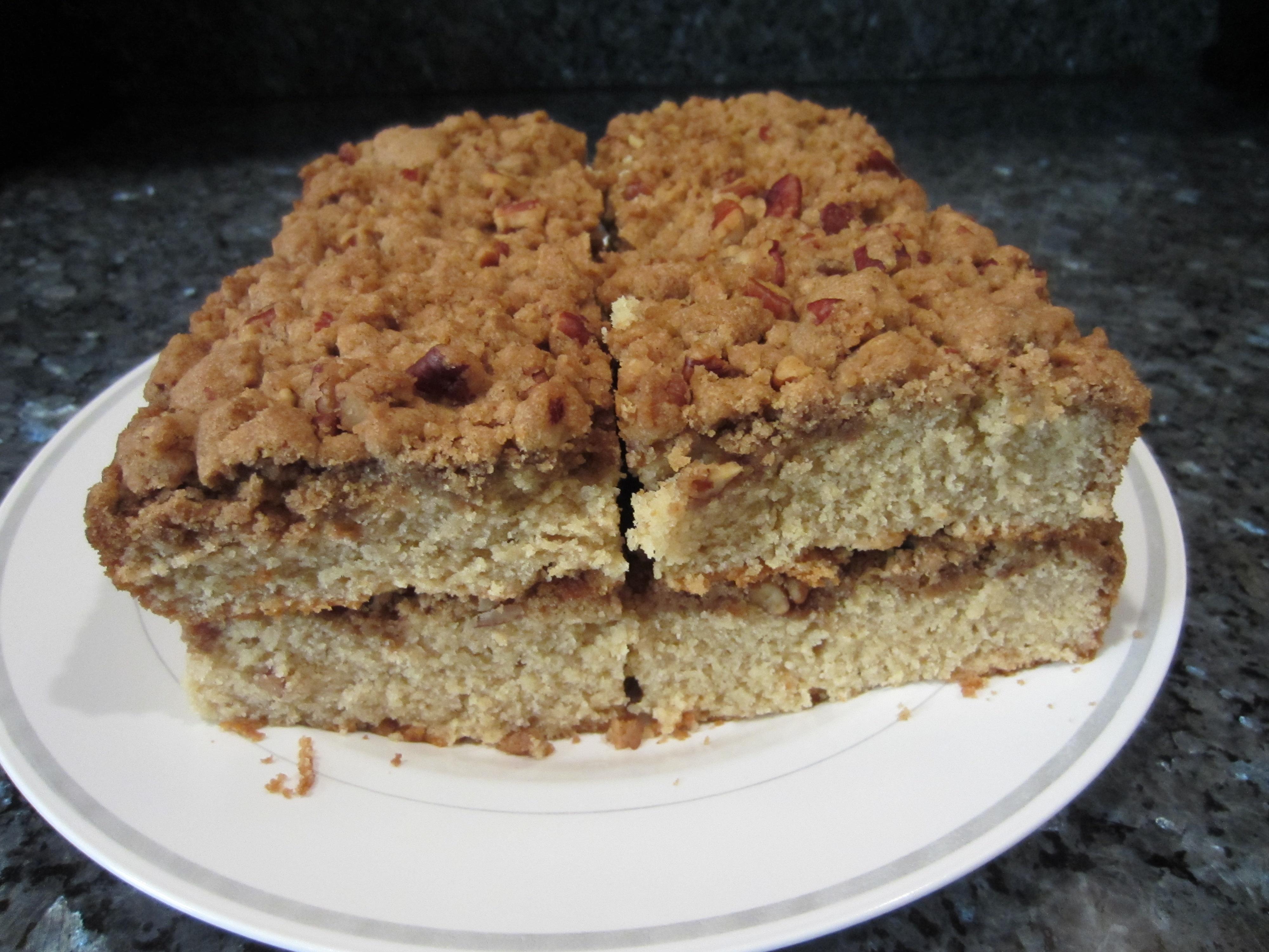 Coffee House Coffee Cake Recipe