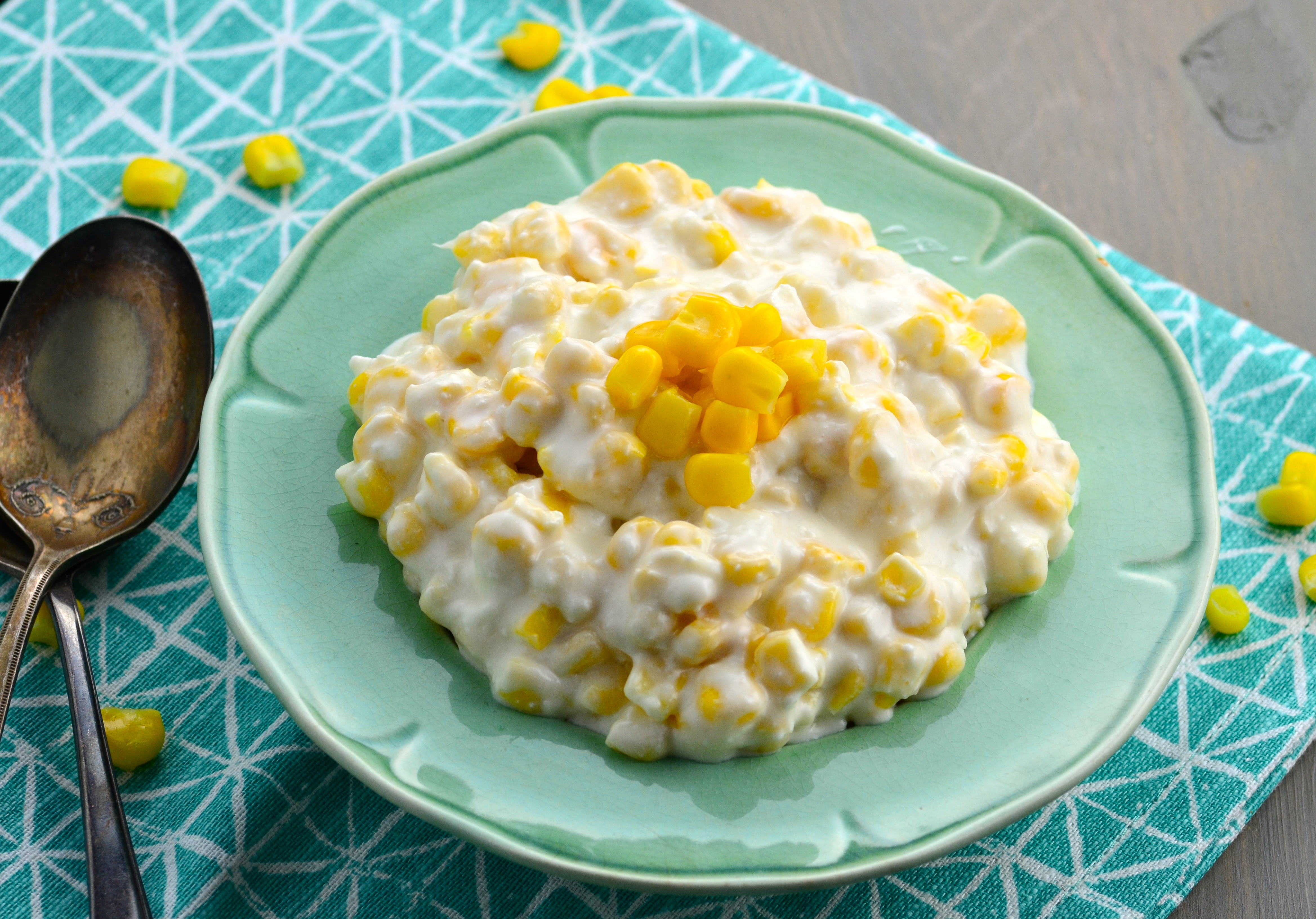 Mom's Famous Crock Pot Cream Corn Recipe