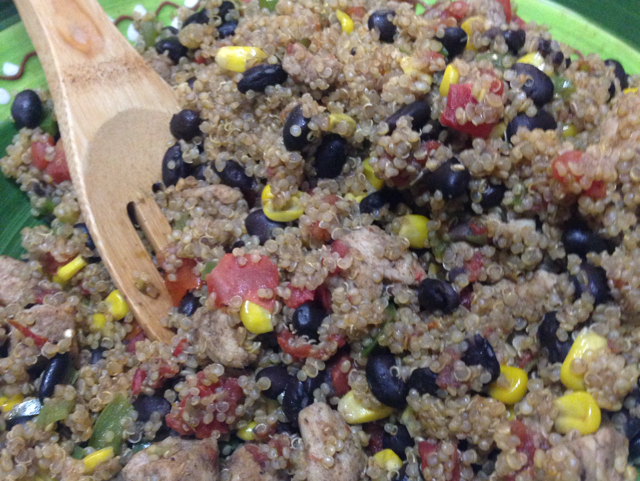 Quinoa Salad With Chicken and Black Beans Recipe