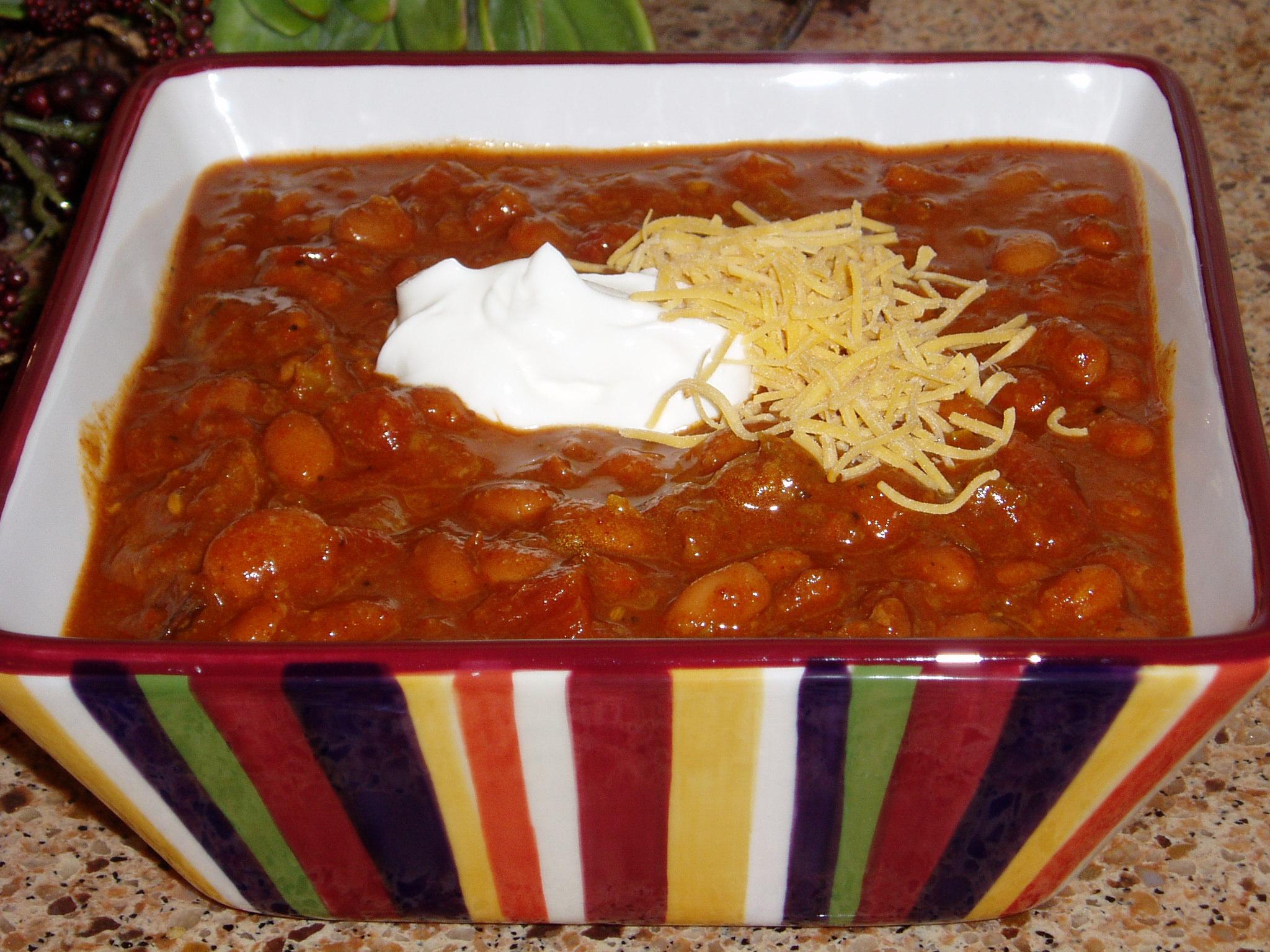 Crock Pot Chili Chili and Beans Recipe