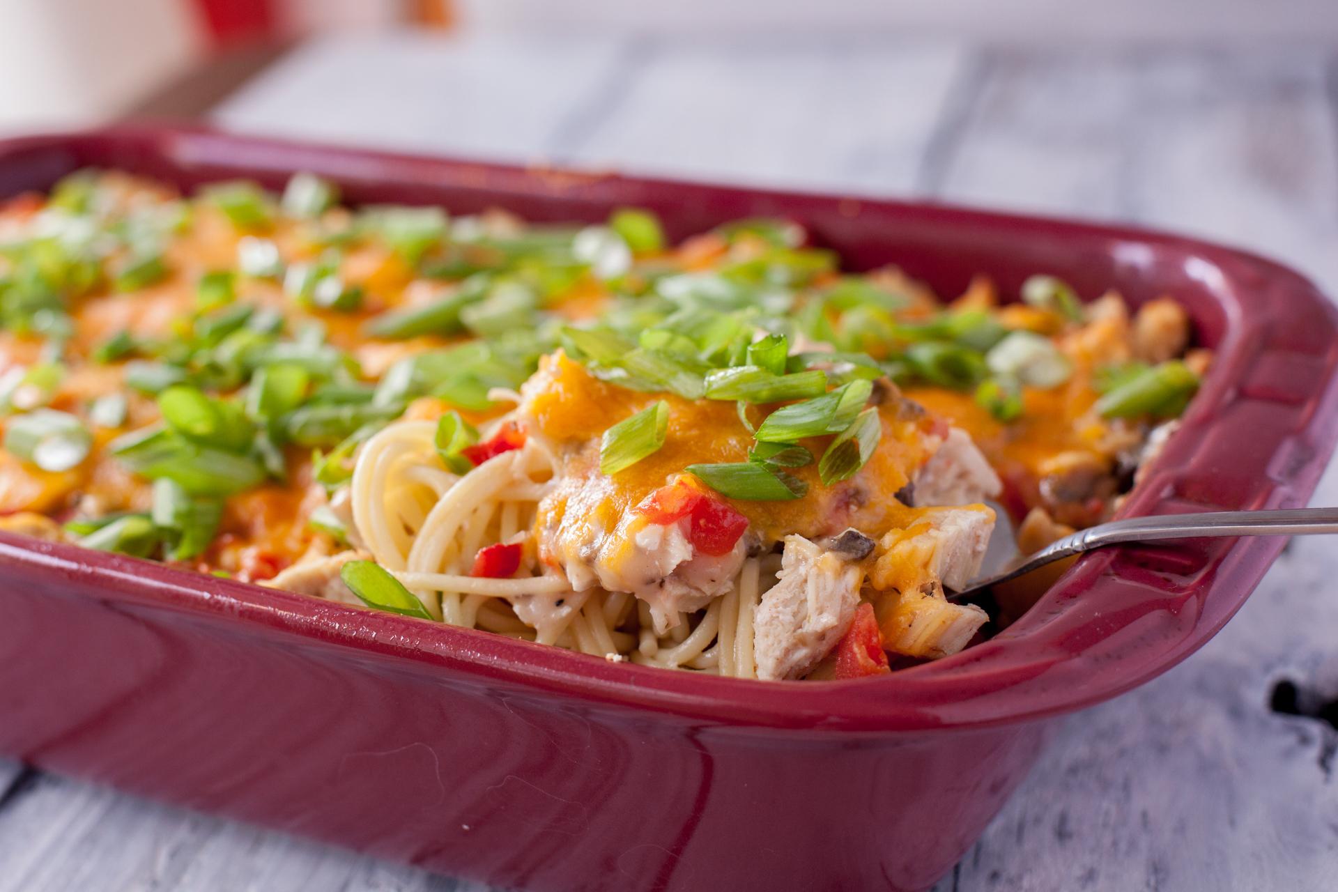 Ro-tel Chicken Spaghetti Recipe