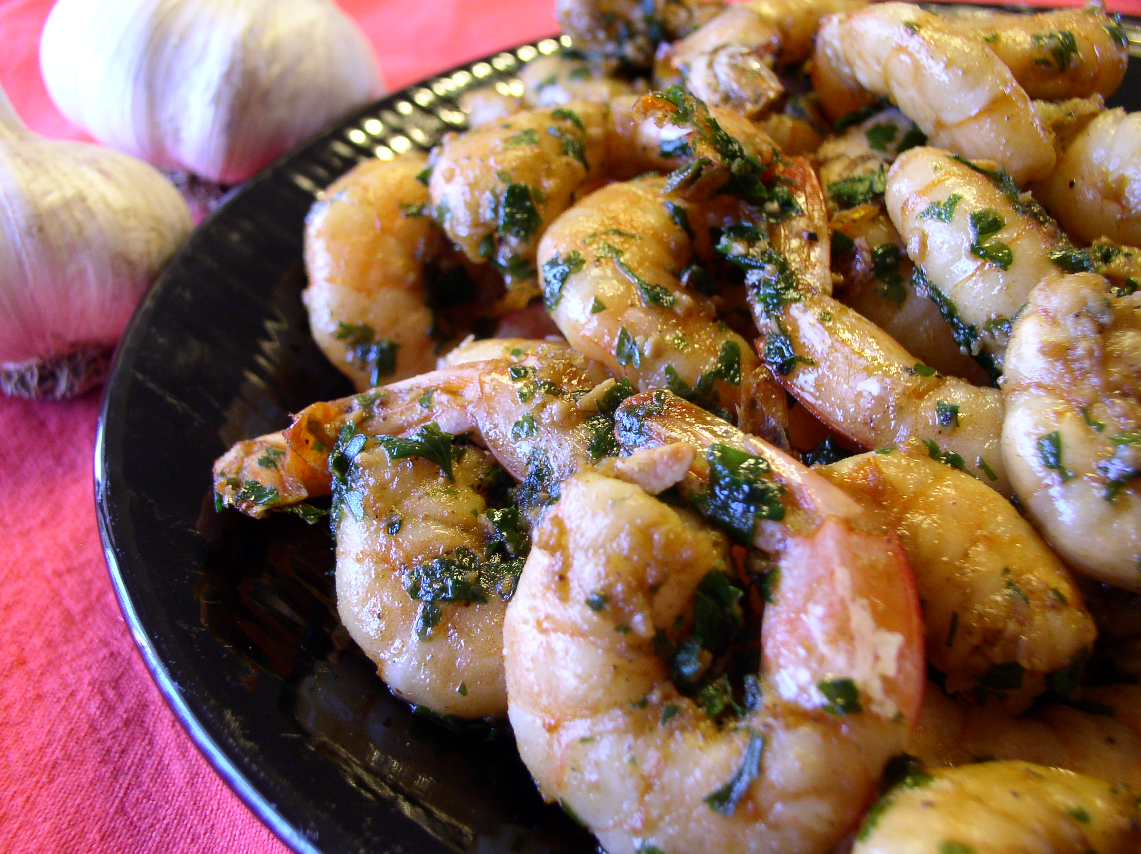 The Best Garlic Shrimp in the Whole Wide World