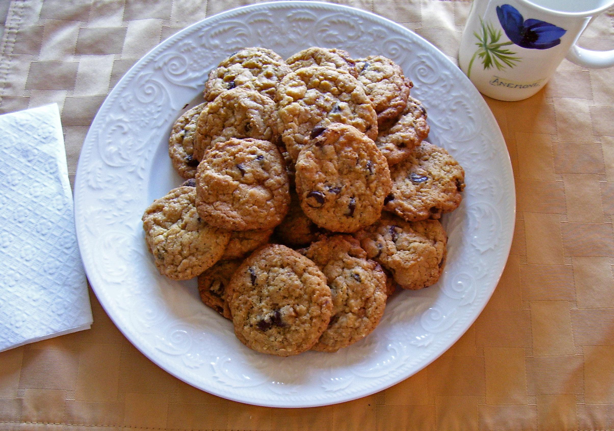 Chocolate Chip Skor Cookies