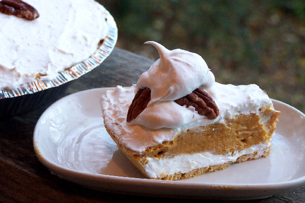 Double Layer Pumpkin Pie Recipe