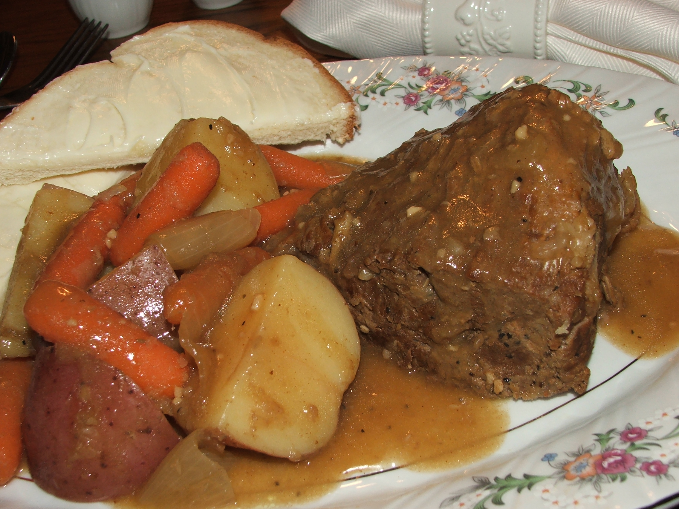 "Kelly's Midwest  "" Cold Remedy""  Pot Roast Recipe"