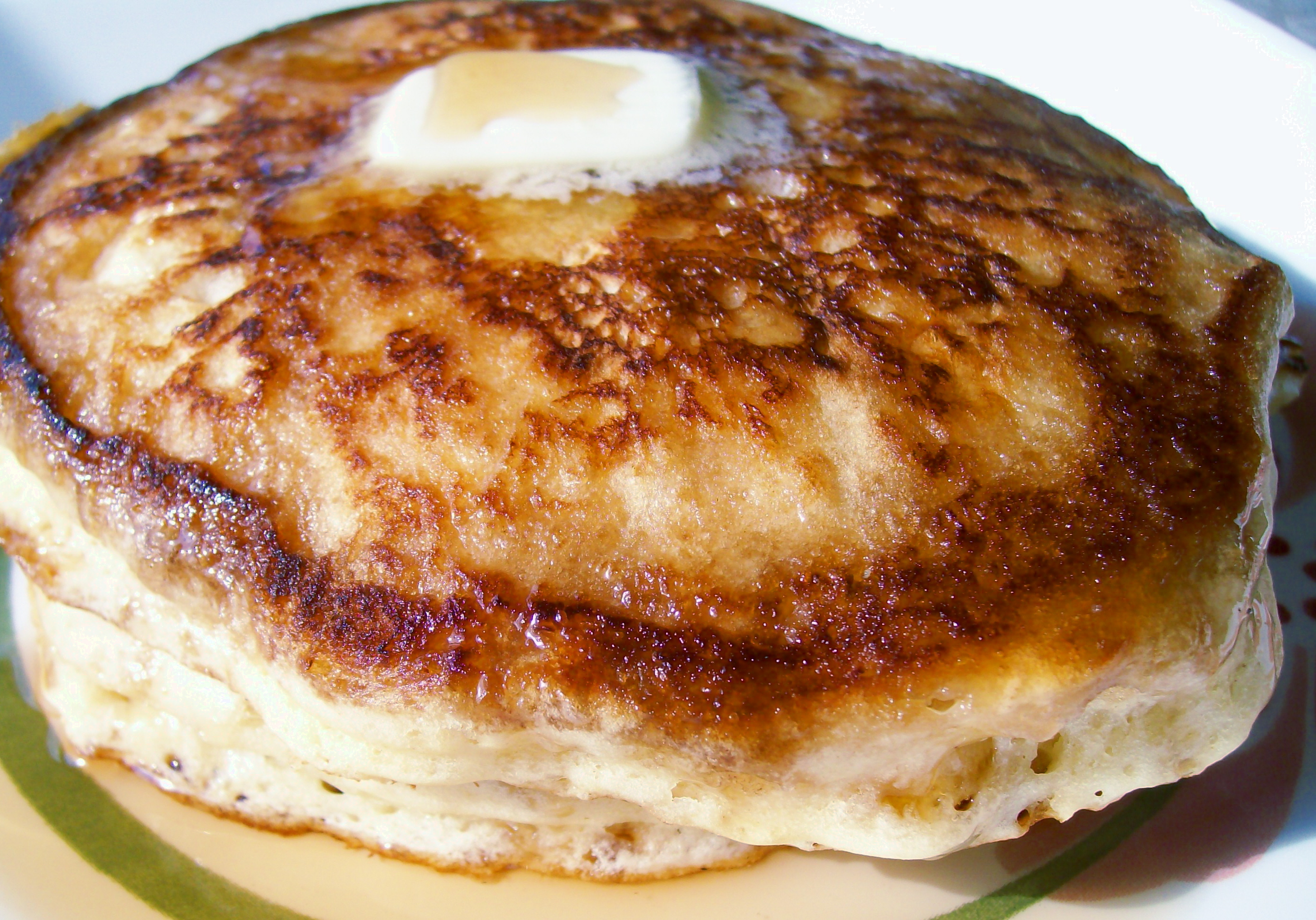 Pete's Scratch Pancakes Recipe