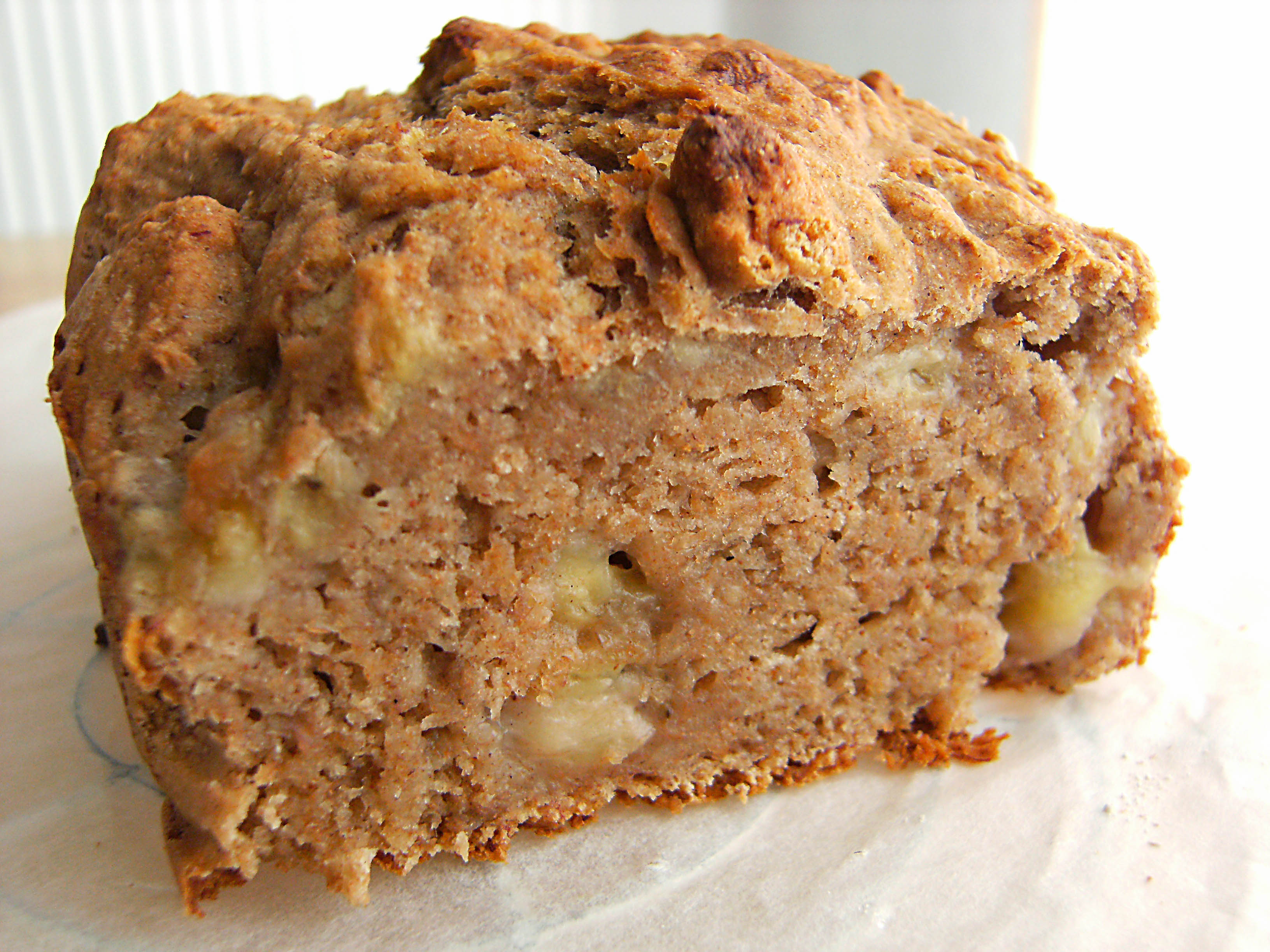 Low Fat Honey Banana Bread