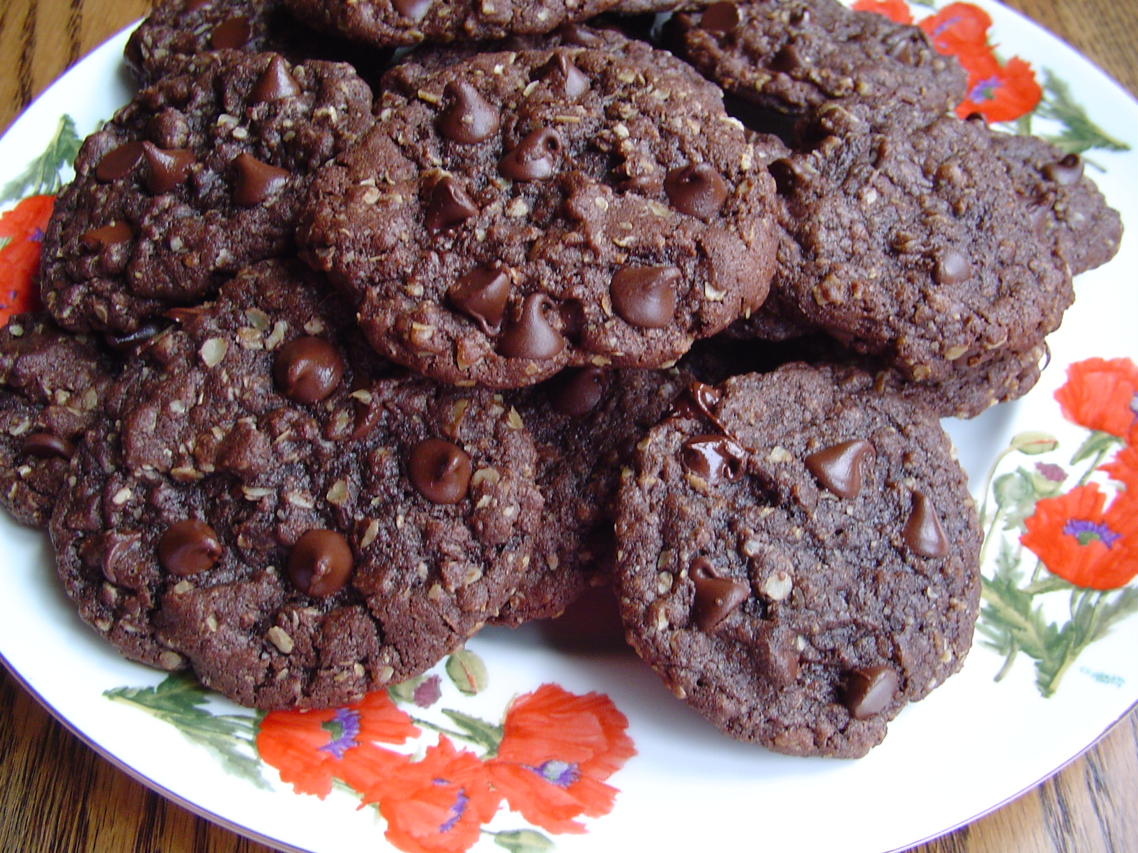 Chocolate Cowboy Cookies
