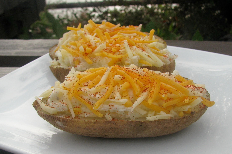 Make-Ahead Twice-Baked Potatoes Recipe