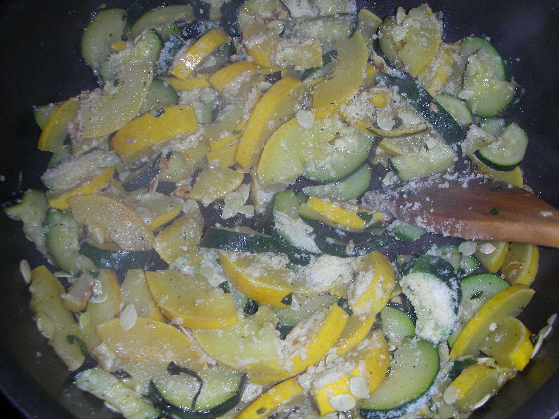 Parmesan Squash Toss