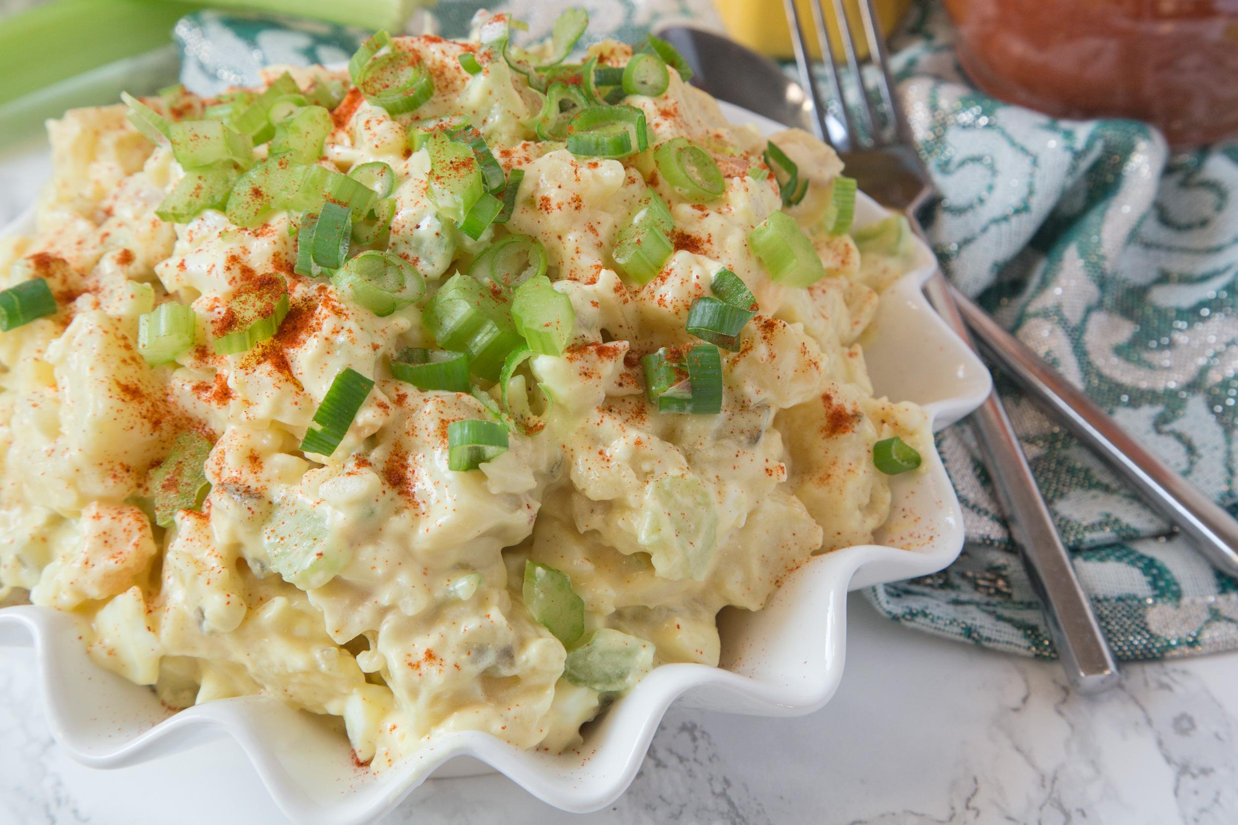 Nan's Classic Mustard Potato Salad
