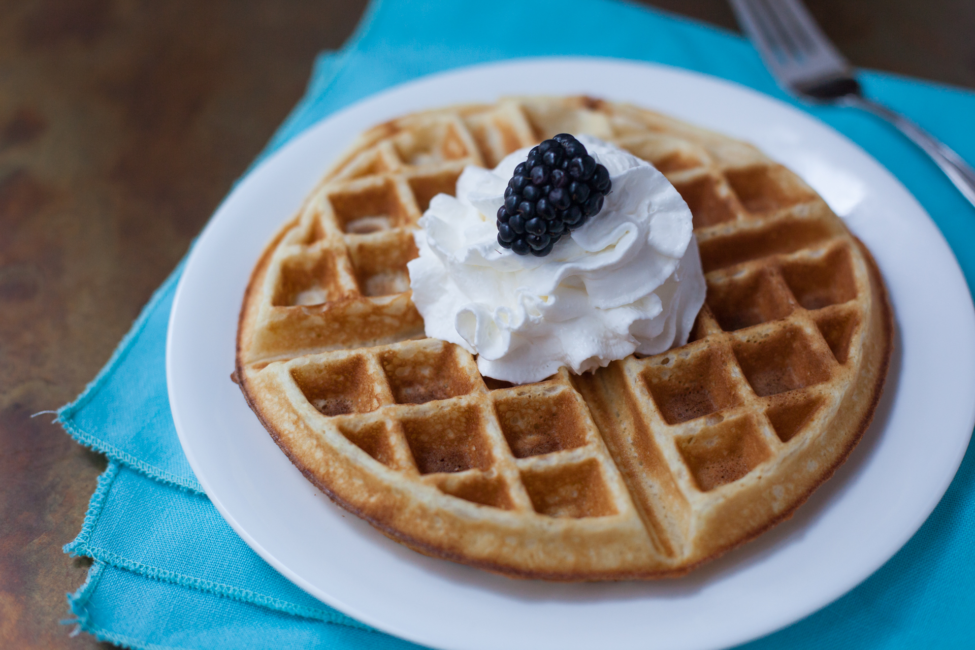 The Bestest Belgian Waffles Recipe