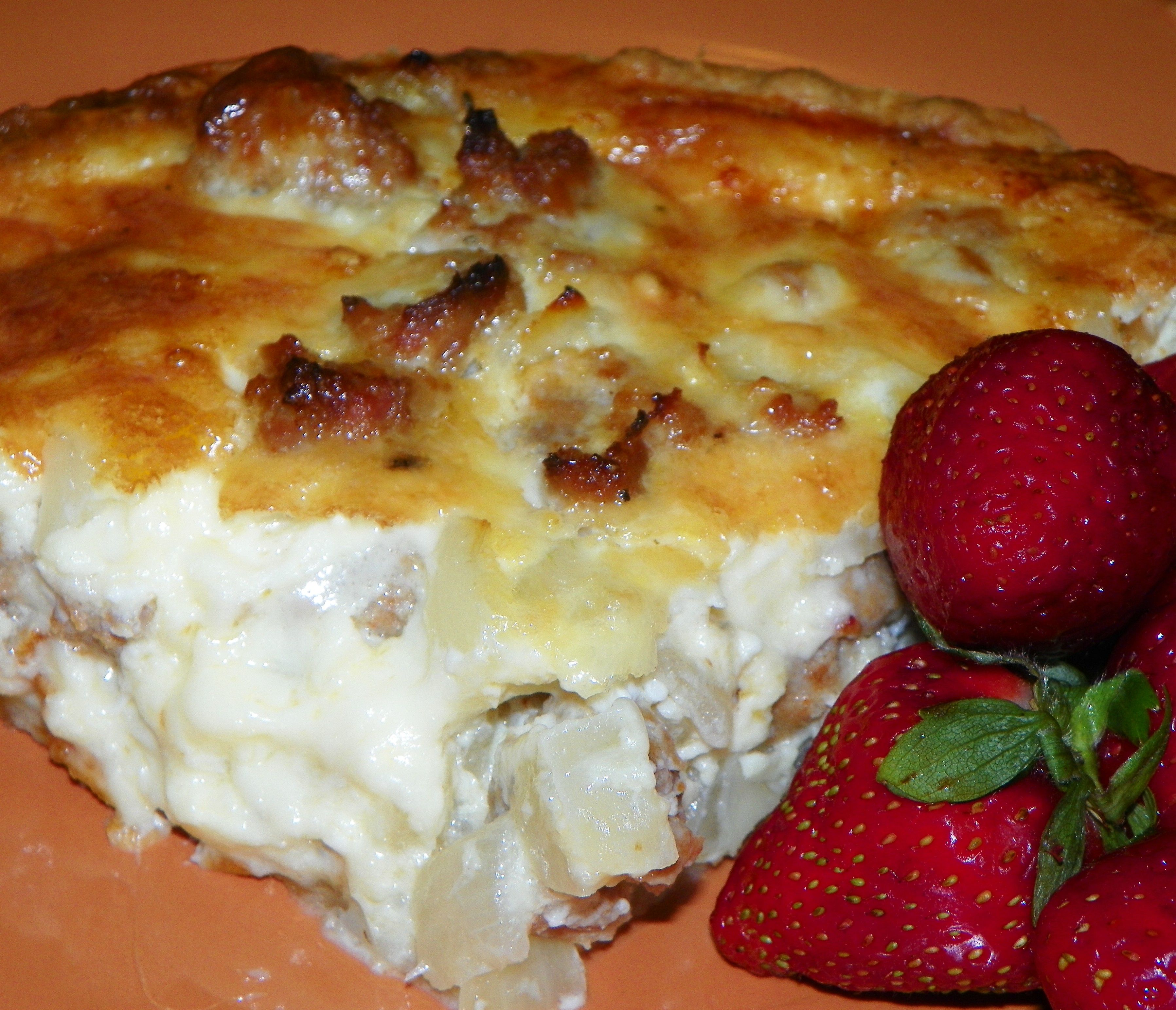 Italian Sausage Pie Recipe