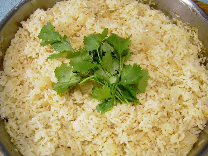 Basmati Rice Seasoned with Garam Masala