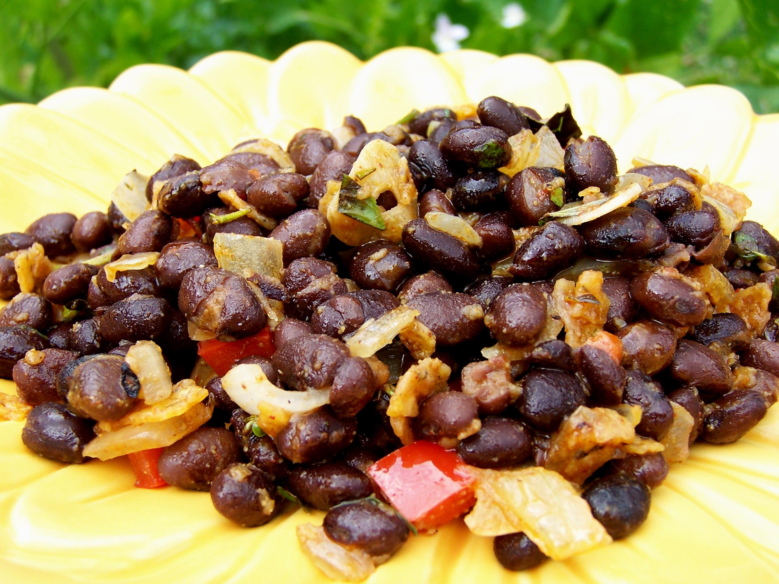 Copycat Chili's Black Beans