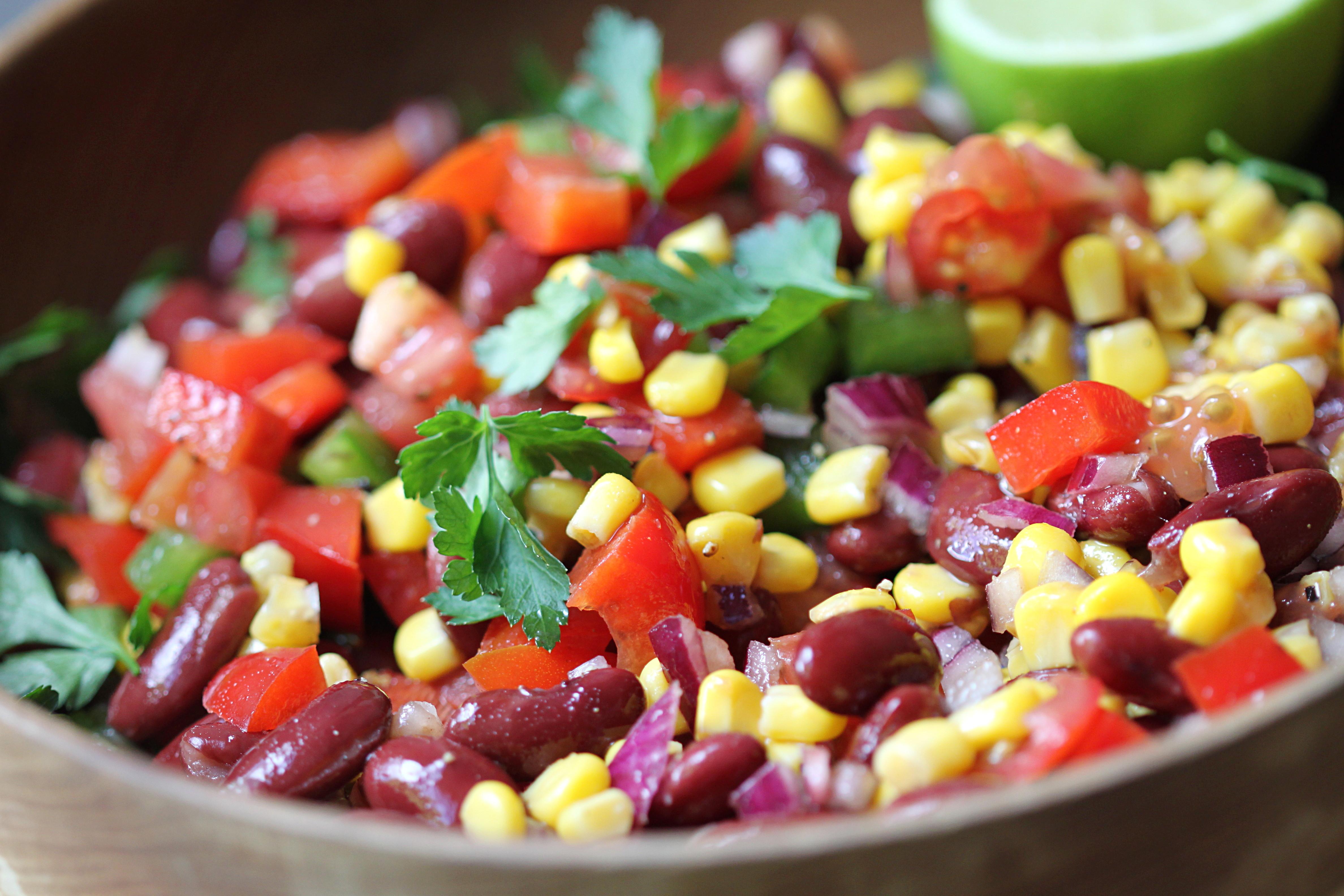 Black Bean and Corn Salad ( Dip )
