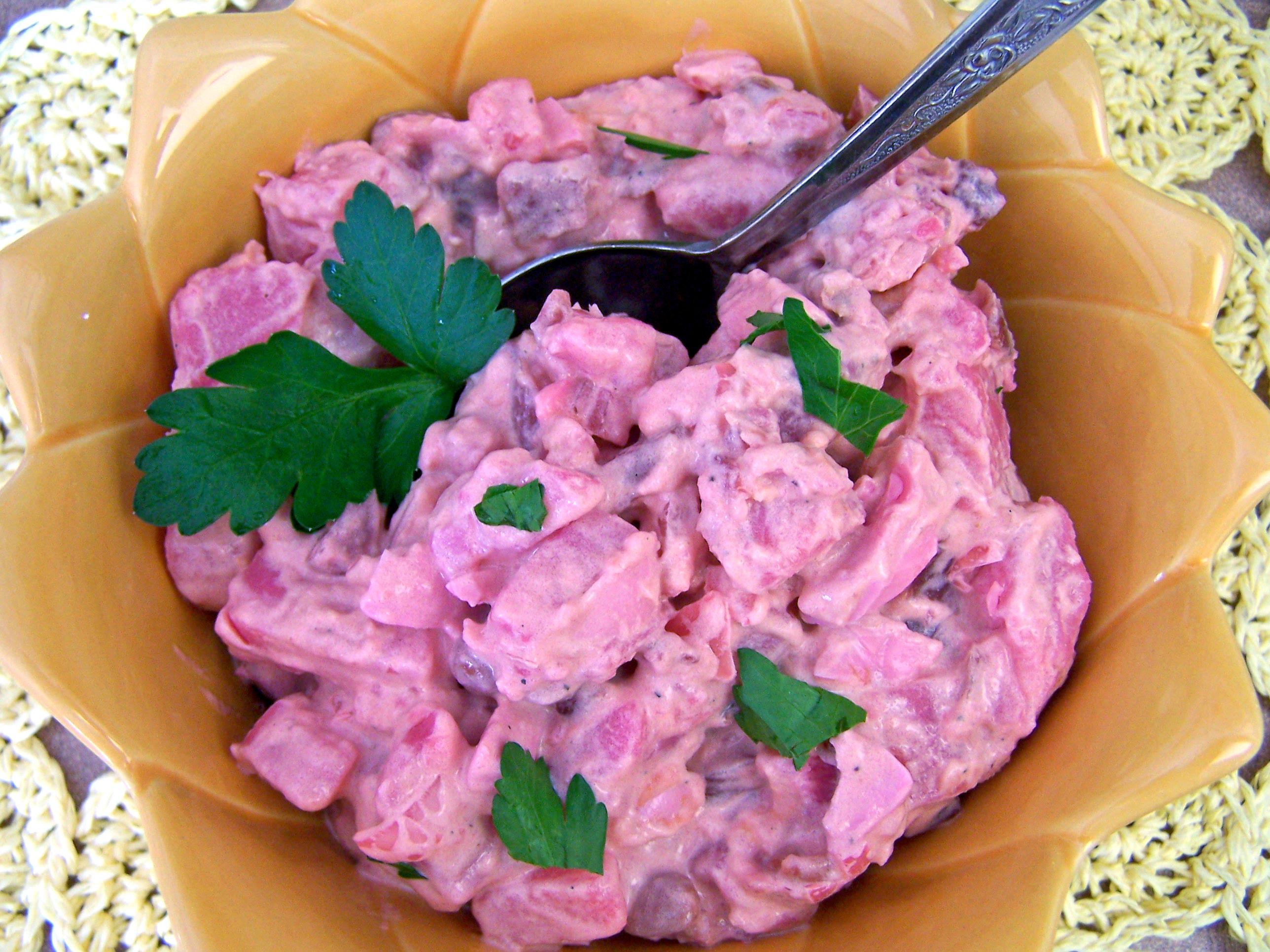 Potato and Beet Salad Recipe