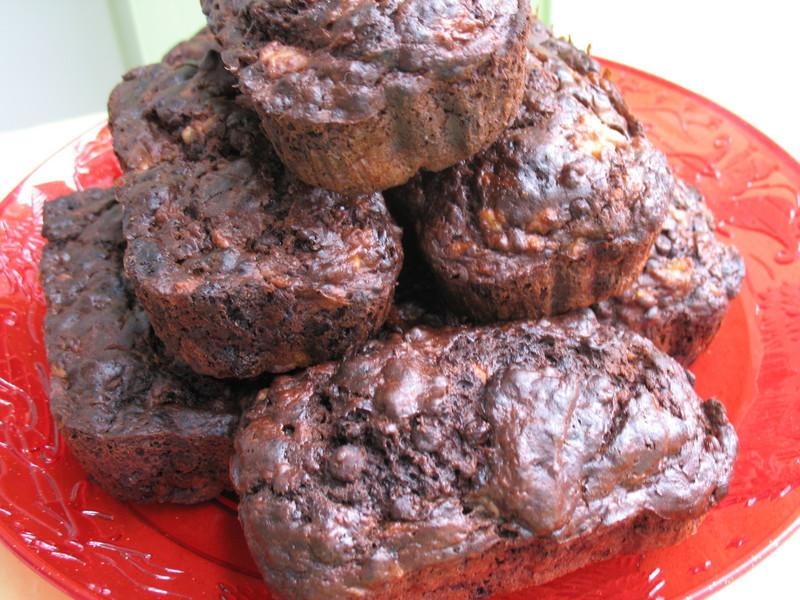 Chocolate Chocolate Chip Sour Cream Banana Bread Recipe