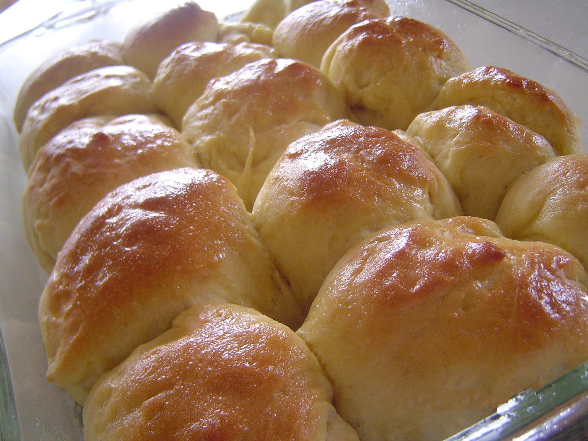 Country White Bread or Dinner Rolls (Bread Machine) Recipe