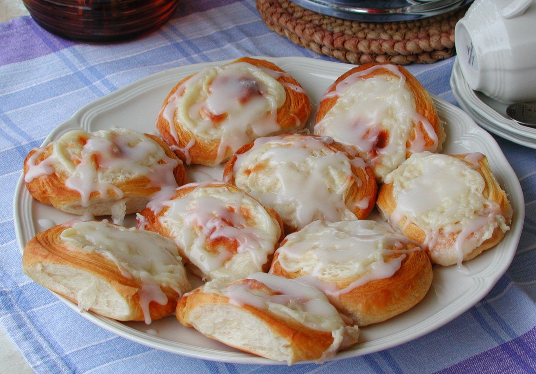 Individual Cream Cheese Danish