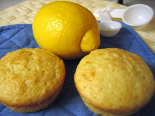 Mean Chef's Lemon Sour Cream Muffins