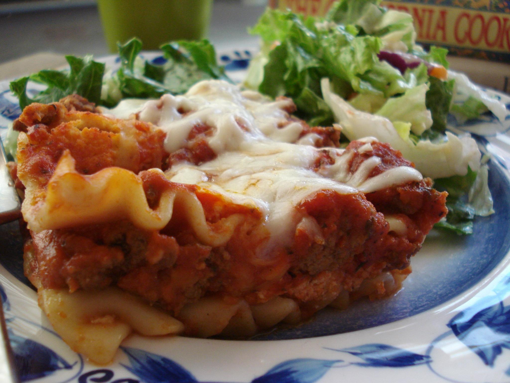 Barilla No-Boil Lasagna Recipe