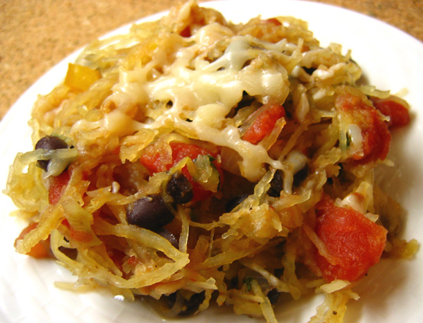 Southwest Spaghetti Squash Recipe