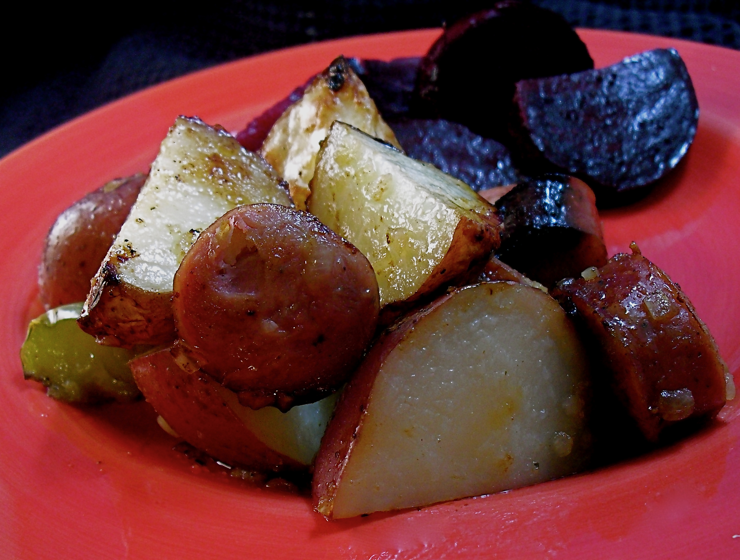 Roasted Kielbasa & Potatoes Recipe