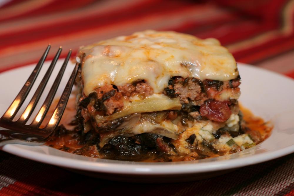 I Lost My Noodles! Low Carb/South Beach Eggplant Lasagna Recipe