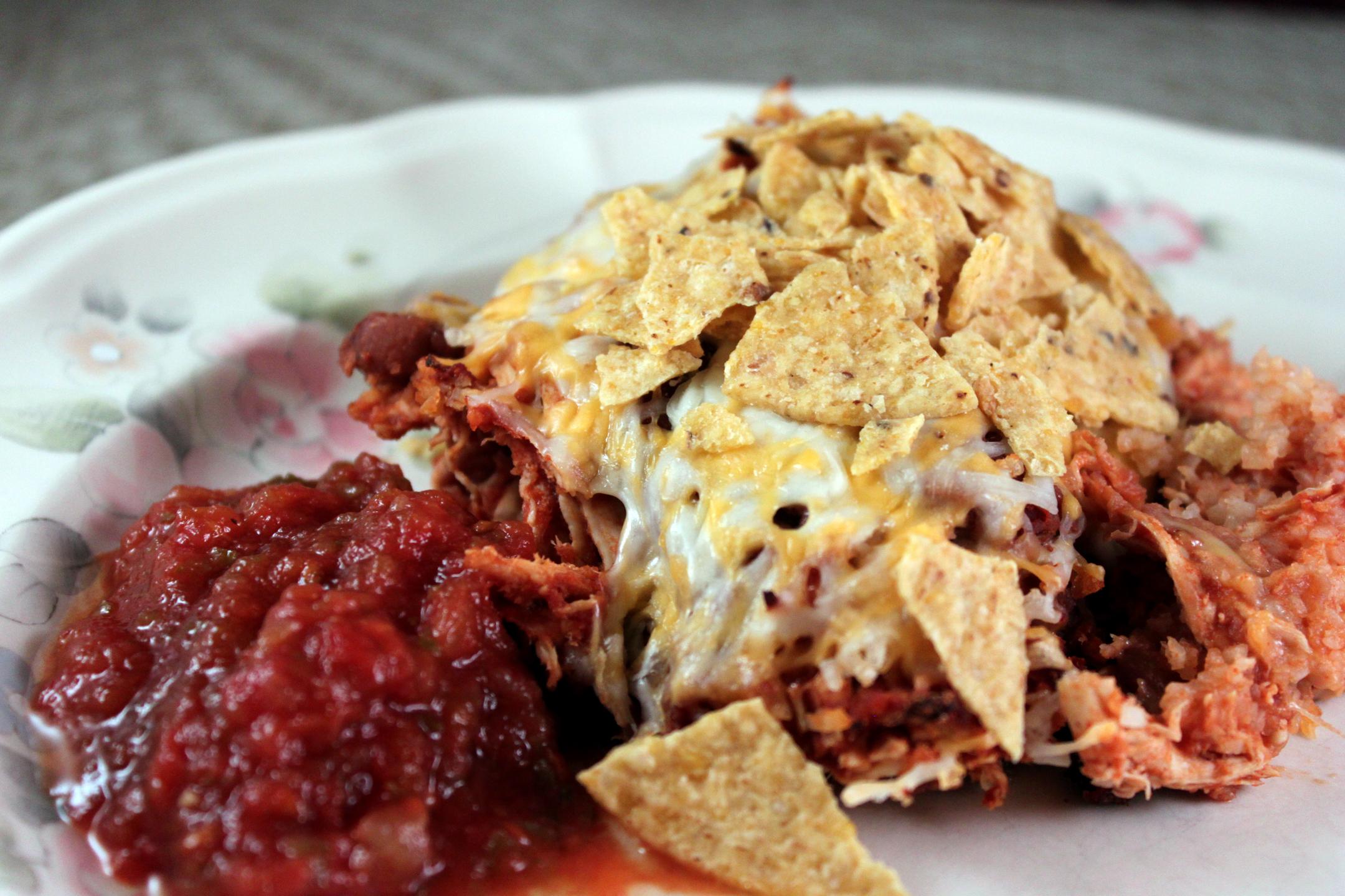 Chicken Taco Casserole (oamc) Recipe