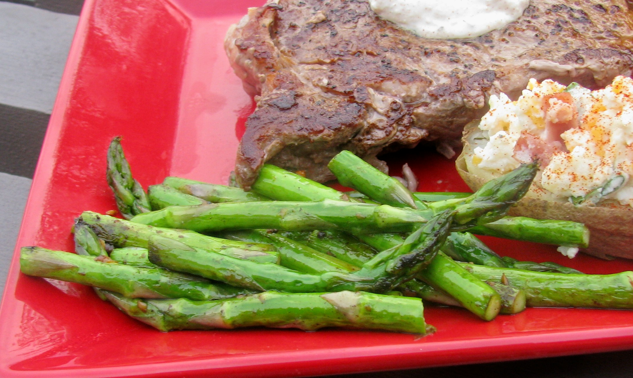 Pan-Roasted Asparagus Recipe